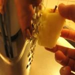 Äppelrivning på gång