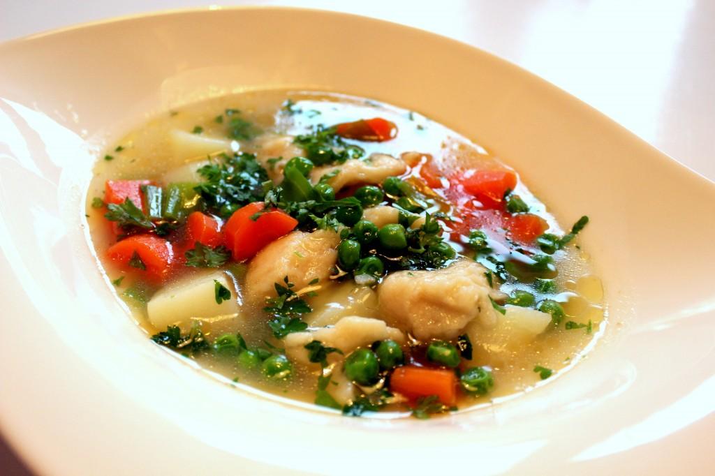 recept klassisk köttsoppa med klimp